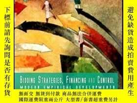 二手書博民逛書店Bidding罕見Strategies Financing And Control: Modern Empiric