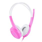 聲麗兒童耳機頭戴式耳麥帶話筒網課低分貝護耳英語聽力電腦平板可愛mp3音樂耳麥