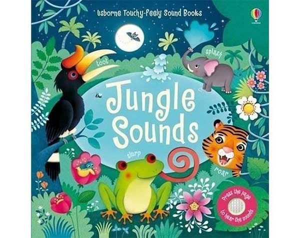 Touchy-Feely Sound Books:Jungle Sounds 叢林聲音 觸摸有聲書