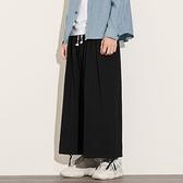 日系亞麻束腳燈籠褲男士寬鬆大碼加肥棉麻寬褲潮流工裝褲男 雙十一爆款