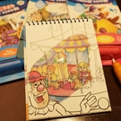 寶寶塗鴉本場景臨摹塗色本反復使用兒童水畫布畫畫本   英賽爾3C數碼店