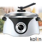 《市價1890》歌林Kolin 3.6L不銹鋼多功能料理鍋