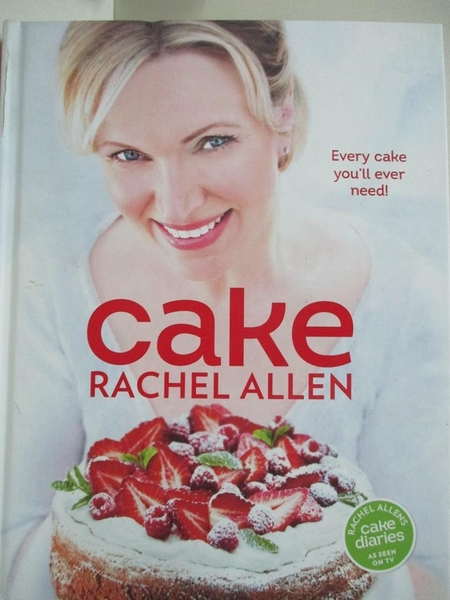 【書寶二手書T6/餐飲_D5B】Cake-200 Fabulous Foolproof Baking Recipes