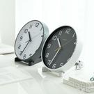 擺鐘 客廳座鐘臺式鐘錶擺件歐式創意臺鐘臥室擺鐘靜音時鐘桌面小掛鐘 京都3C