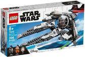 【LEGO樂高】STAR WARS 黑色王牌鈦攔截機 #75242