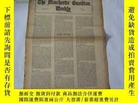 二手書博民逛書店外文原版報紙罕見THE MANCHESTER GUARDIAN WEEKLY 1948年3月4日 第10期 共16