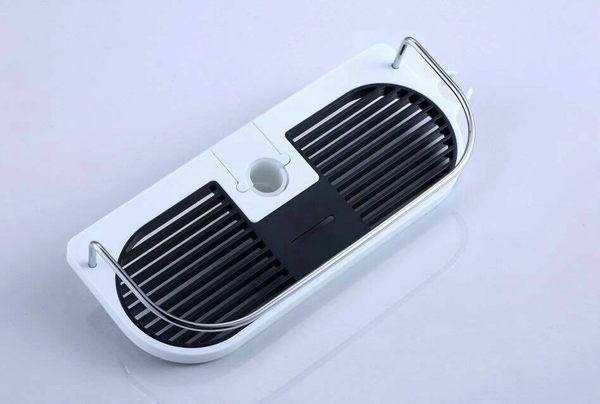 【麗室衛浴】花灑桿淋浴柱F-674.滑桿組 專用肥皂盤 平台架含扣環