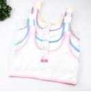 發育期小背心 女童內衣 多花色包邊素面內衣 女孩成長小背心 88041