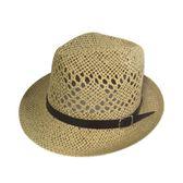 夏季禮帽韓版遮陽帽帽子男士草帽爵士帽
