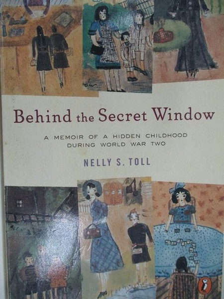 【書寶二手書T1/原文小說_ACA】Behind the Secret Window_Nelly S. Toll