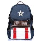 台灣現貨 年終出清 漫威 正版 後背包 漫威 復仇者聯盟 美國隊長 電腦包 雙肩包 學生包