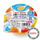 日本 Kewpie 寶貝水果鮮凍系列-蘋果香蕉香橙-70g
