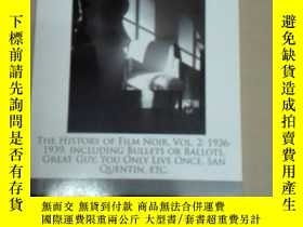 二手書博民逛書店The罕見history of film noir Vol.2: