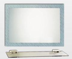 【麗室衛浴】化妝鏡 LS-727 晶雕噴砂明鏡  防霧 700*500mm
