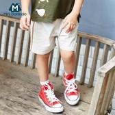 男童短褲夏裝兒童短褲側條紋休閒運動褲短款