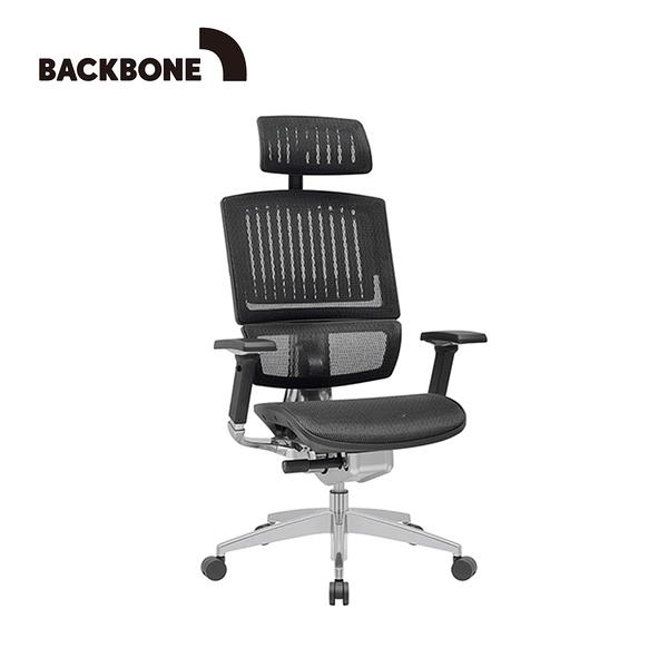 【Backbone】King Kong人體工學椅 旗艦椅-特強網款 文墨黑
