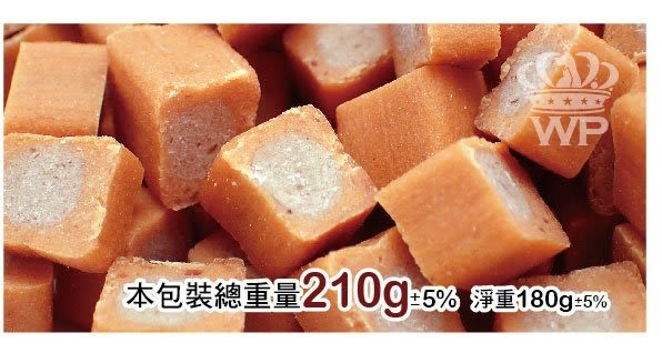 *KING WANG*【下殺單包$109】   烤一百《鮭魚蔬果雞肉潔牙點心》寵物零食180g 【WP-019】/狗零食