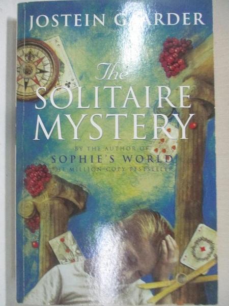 【書寶二手書T1/原文小說_BY4】Solitaire Mystery_GAARDER, JOSTEIN, 喬斯坦.賈德