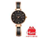 羅梵迪諾 Roven Dino RD778-358 黑X玫瑰金 女錶
