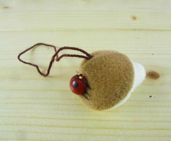【震撼精品百貨】となりのトトロTotoro_造型吊飾-香菇