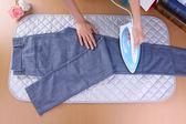 燙衣墊 家用折疊全棉熨燙墊易攜帶替代燙衣板無熨斗送隔熱網布 快速出貨