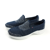 SKECHERS GO WALK 4 懶人鞋 休閒布鞋 舒適 好穿脫 輕量 女鞋 藍色 15015NVW no716