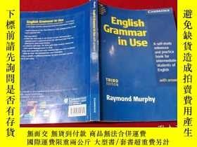 二手書博民逛書店English罕見Grammar in Use 16開 (有筆記)Y233841