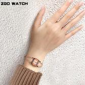 女錶 防水時尚簡約小巧手鏈手鐲式開口氣質細表帶 生日禮物