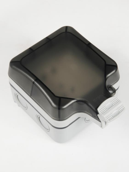 防水盒戶外電源插座防水防雨盒 明裝防水開關插座戶外專用防雨密封盒 喵小姐