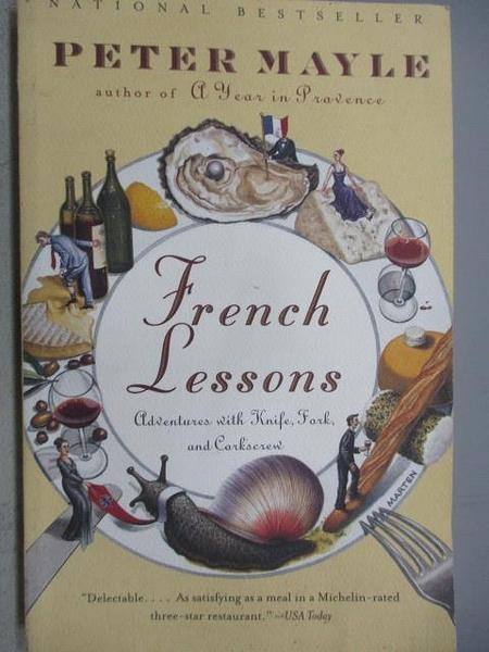 【書寶二手書T3/原文小說_CLP】French Lessons_Peter Mayle