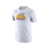 Nike 短袖T恤 Los Angeles Lakers Dri-FIT Tee 白 黃 男款 湖人 【ACS】 AT0813-100