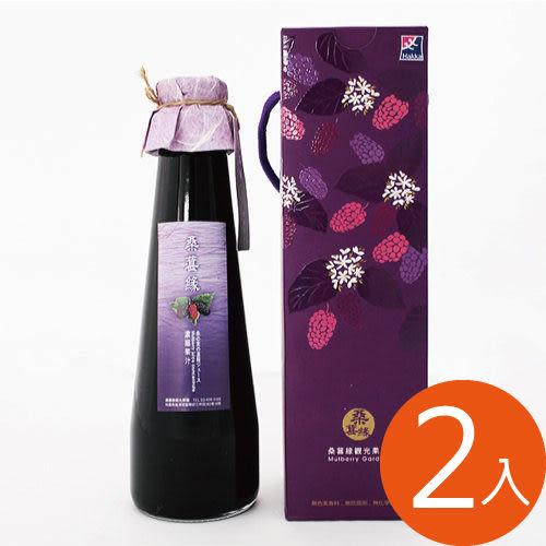 [桑葚緣]桑葚濃縮果汁x2瓶(1瓶/600ml)