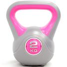KettleBell運動2KG壺鈴(4.4磅)2公斤壺鈴拉環啞鈴搖擺鈴舉重量訓練重力健身器材.推薦哪裡買專賣店
