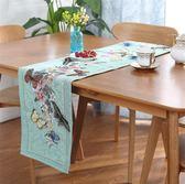 田園餐桌桌旗桌布高檔美式鄉村茶幾桌旗桌墊餐墊櫃巾蓋巾桌巾