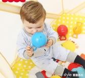 費雪嬰兒玩具0-1歲寶寶手抓球新生兒小皮球幼兒手搖鈴3-6-12個月  LannaS
