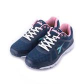 DIADORA DA5516輕量慢跑鞋 藍 DA5516 女鞋 鞋全家福