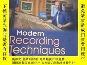 二手書博民逛書店Modern罕見Recording TechniquesY153