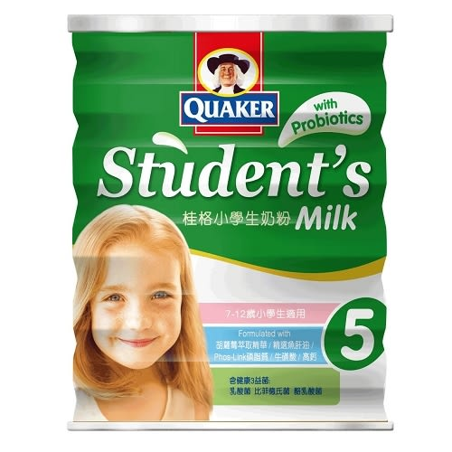 桂格小學生奶粉-明亮高鈣配方1500g【愛買】