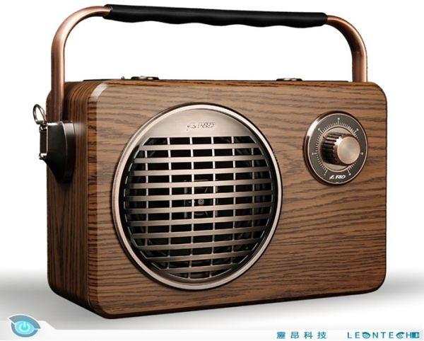 奮達 F&D R9 復古收音機 手提 藍牙音箱 音響 重低音