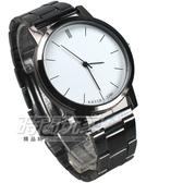 KEVIN 都市情人夢 簡約時刻 時尚腕錶 防水手錶 中性錶/男錶/女錶/都適合 白色 KV2280白大
