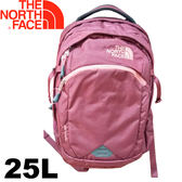 【The North Face 美國 25L 13吋電腦背包《巴羅洛紅》】CA7K/電腦背包/電腦包/後背包★滿額送