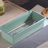 筷子筒 防塵廚房餐具收納盒筷子籠帶蓋瀝水勺子筷子筒家用筷籠筷筒筷子桶 霓裳細軟