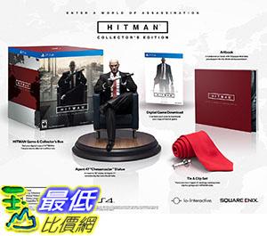 [105美國直購] Hitman Collector s Edition - PlayStation 4 刺客任務 殺手47