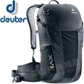 Deuter 3850018黑 X-Venture 17L多功能休旅背包 DayPack旅遊背包/休閒書包/登山雙肩後背包