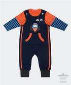 Hallmark Babies 男嬰秋冬長袖上衣背帶褲寶寶套裝 HC3-A08-03-BB-PN