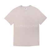 Nike 短袖 NSW Essential Tee 女款 奶茶色 小勾勾 寬鬆 短T 【ACS】 DH4256-236