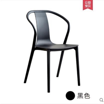 ( 促銷95折 ) 咖啡廳桌椅組合椅子創意家用靠背凳北歐餐椅-HYQ