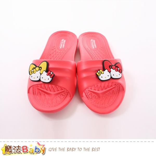 女鞋 Hello kitty授權正版防滑拖鞋 魔法Baby