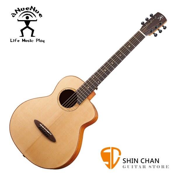 aNueNue M100 飛鳥/36吋小吉他 雲杉面板/桃花心木 全單板 附贈anuenue原廠吉他袋