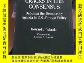 二手書博民逛書店英文書罕見cracks in the consensus 共識的裂痕Y189461 出版1997